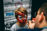 Kids Birthday Party Entertainment Face Painting Twisted Balloons