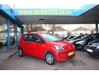 2013 13 VOLKSWAGEN UP! 1.0 TAKE UP 3DR RED