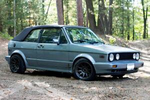 1988 Volkswagen Golf Convertible