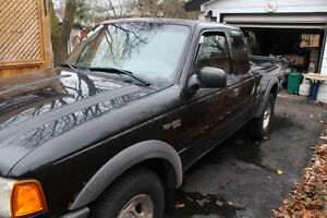 2001 Ford Ranger XLT Pickup Truck - Selling as is!