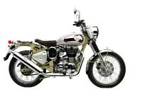 Royal Enfield Bullet 500 Trials Modern Classic Adventure Motorcycle
