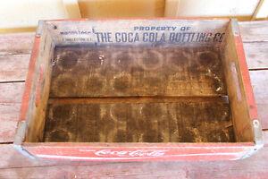Old Wooden Coke Case London Ontario image 2