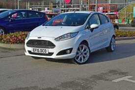 2015 FORD FIESTA Ford Fiesta 1.0 EcoBoost Titanium 5dr [17in Alloys]