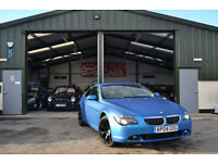 2004 BMW 645 4.4 Ci AUTOMATIC PETROL MATT BLUE