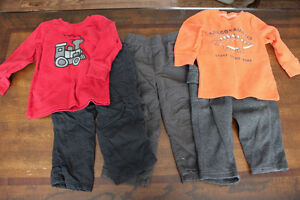 Boys jumping beans outfits size 18-24 months