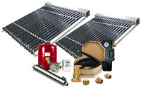 Complete Solar Pool Heater - With Solar Vacuum Tubes