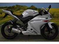Yamaha YZF R125 2010 ** 6909 MILES, TAIL TIDY, DIGITAL DISPLAY **