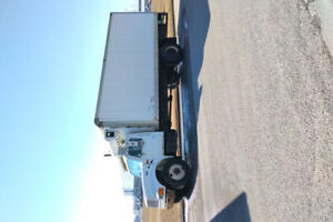 Trucking / courier company for sale with job