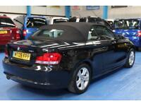 BMW 118 2.0 auto convertible i SE Automatic sport black
