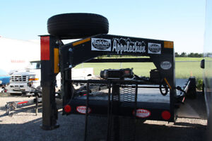 2012 Flat bed Heavy Duty  Appalation gooseneck Trailer
