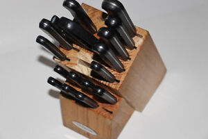 FABERWARE-ENSEMBLE COUTEAUX CUISINE/KITCHEN KNIFES SET