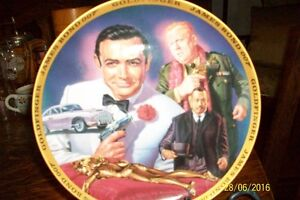 Franklin Mint- Collector 007 Goldfinger Bond Collector Plate