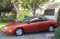 2002 Saturn S-Series Coupé (2 portes)