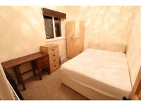 Rooms in a terraced house, close to the train station. All bills included.