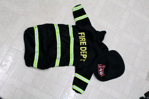 Firefighter costume size 3-6 months