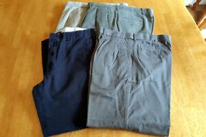 Mens Cotton Pants Size 36/30