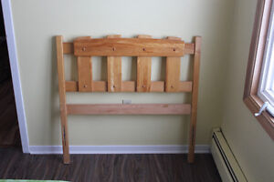 Single Bed Headboard and Footboard (includes frame)