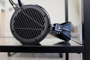 The Audeze LCD2C or LCD2 Classic Audiophile headphones & adaptor