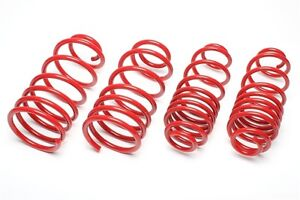 4 LOWERING LOWERED SPRINGS VW Polo 9N 9N3 MK5 MK6 1.2 + 16V 1.4 + 16V -50mm