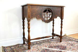 Antique Solid Wood Console Table