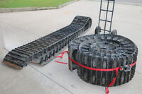 """8 Wheel Argo Avenger 18"""" Rubber Tracks with Spacers"""