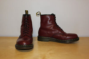 Doc Martens Cherry Red Leather Boots