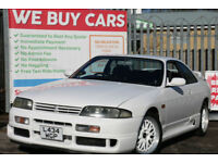 Nissan Skyline R33 GTR GTST SIMILAIR REQUIRED..................WE BUY ALL MODELS