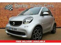 2016 smart fortwo 1.0 PRIME 2d 71 BHP Coupe Petrol Manual