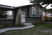 Calgary Southwest finished 4 level split single house for rent