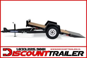 2019 Single Axle Tilt Bed Equipment Trailer