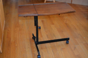 Adjustable Laptop / Tablet Table / Work Surface.