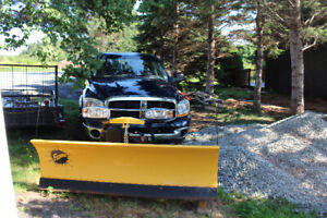 2006 Dodge Ram 2500 with Fisher Plow