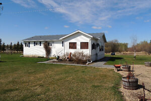 Modular on 160 Acres West of Spirit River