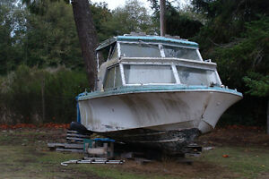 Free: 21' Fiberform Runabout Boat (As Is)