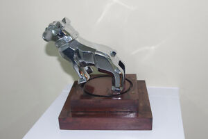 Mounted Chrome Mack Truck Bulldog Hood,Desk Ornament Paperweight London Ontario image 3