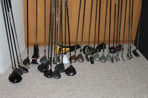 Mens Right Hand golf clubs $10 - $50  see list below