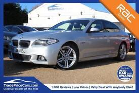 2015 64 BMW 5 SERIES 3.0 530D M SPORT 4D AUTO 255 BHP DIESEL
