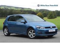 2015 Volkswagen Golf Match 1.6 TDI 105 PS 5-speed Manual 5 Door Diesel blue Manu