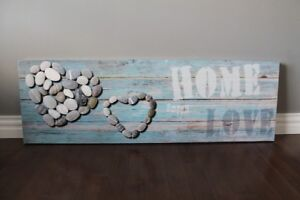 """Canvas Picture """"Home Sweet Love"""""""