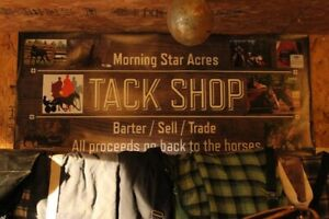 LARGE TACK LOT - INVENTORY FOR SALE