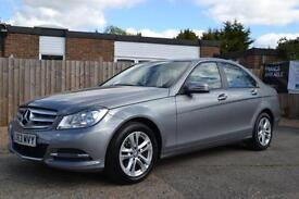 2013 MERCEDES C-CLASS C220 CDI BLUEEFFICIENCY EXECUTIVE SE AUTOMATIC GREY/SILVER