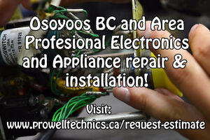 I repair and install Audio systems and more! Osoyoos BC
