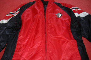 MEN'S N.H.L. BUFFALO SABERS HOCKEY  (WINTER )JACKET.