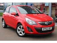 2012 VAUXHALL CORSA 1.2 SXi [AC] 16andquot; ALLOYS, CRUISE and AIR CON