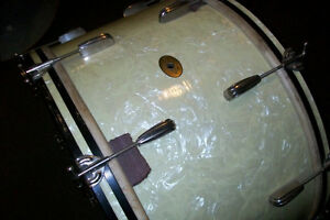 1940s SLINGERLAND RADIO KING 26 inch BASS DRUM Windsor Region Ontario image 5