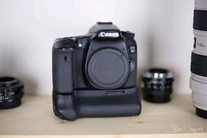 Canon 70D and Battery Grip