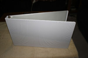 Binders  11 x 17  and Plastic Covers for the 11 x 17 sheets