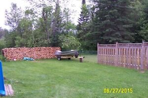 7 face cords of firewood