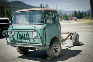 1957 Willys Jeep FC170 Forward Control - Salmon Arm, BC