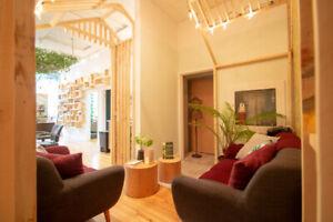 Recherche coiffeur(se) en location de chaise - Village Montréal